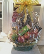 A Beautiuful Fruit and Gourmet Basket