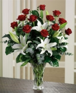 White Lilies & Roses is wonderful for your Special Person